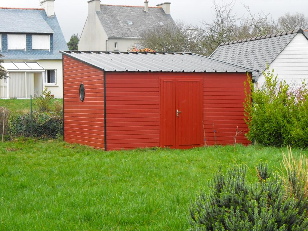 Exemples et mod les d 39 abris de jardin en bois et abris de for Abris de jardin sur mesure