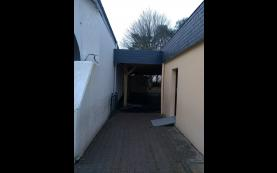 garage adossé alu