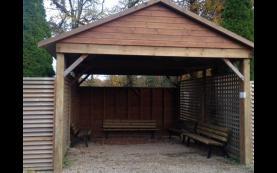carport de qualité bois