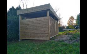 carport bois haute qualité