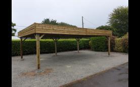 garage en bois haute qualité