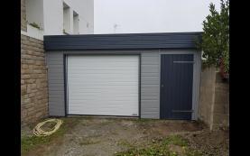 garage toit plat alu