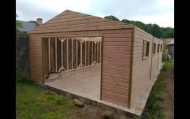 garage haut de gamme bois