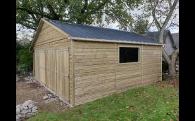 garage bois haut de gamme