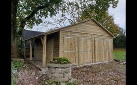 garage en bois de qualité