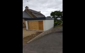 garage de qualité bois