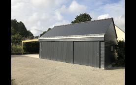 garage bois de qualité
