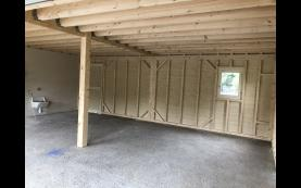 garage haute qualité bois