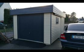 garage toit plat bretagne