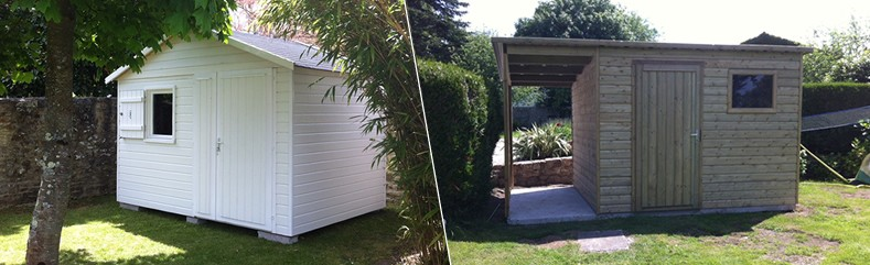 Menuiseries de l\'Ouest : Abri de jardin, Pergola, Carport et Garage ...